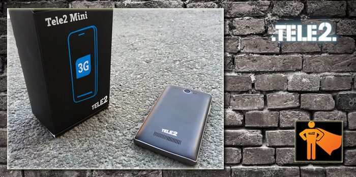 Комплект смартфона теле2