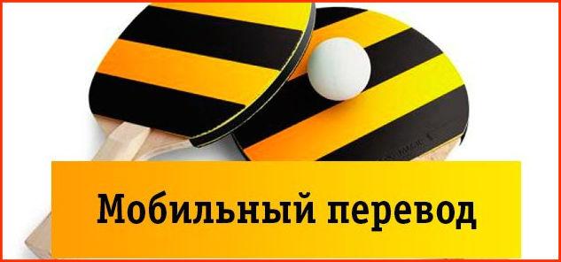 """Услуга """"Мобильный перевод"""""""