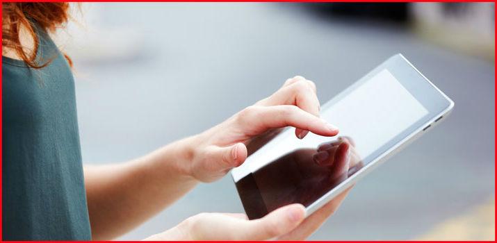 Интернет на планшете