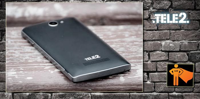 Задняя панель смартфона Теле2