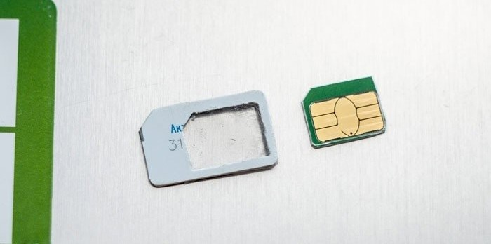 Замена сим карты Теле 2 на нано сим карту