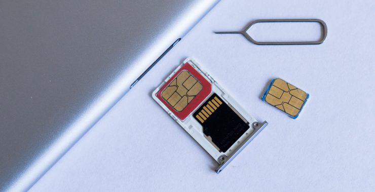 Извлечение SIM-карты