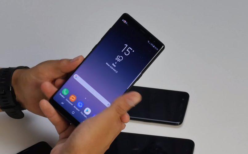 Стандартный пароль на телефоне Samsung