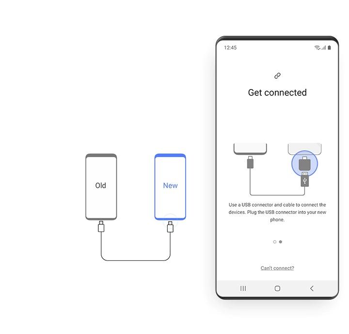 Запустите Samsung Smart Switch